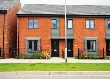 Thumbnail 3 bedroom end terrace house for sale in Birchfield Way, Lawley Village Telford