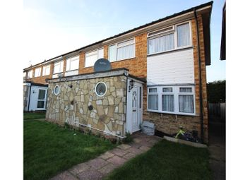 Thumbnail 2 bed end terrace house for sale in Chichester Way, Feltham