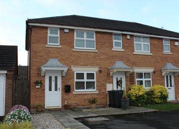 Thumbnail 2 bedroom end terrace house for sale in Brinklow Croft, Shard End, Birmingham