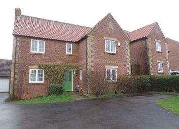 Thumbnail 4 bed detached house to rent in Pridmore Road, Corby Glen, Grantham, Lincolnshire