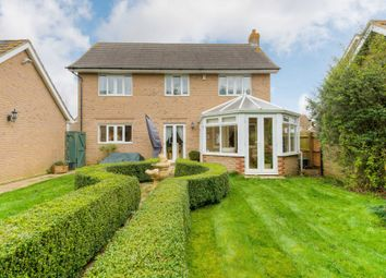 Thumbnail 4 bedroom detached house for sale in Thrupp Close, Castlethorpe, Milton Keynes