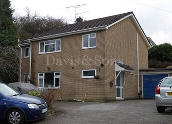 Thumbnail 6 bed detached house for sale in Moriah Hill, Risca, Newport.