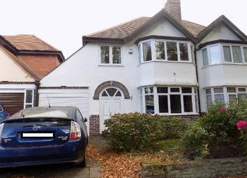 Thumbnail 3 bed property to rent in Oaklands Avenue, Harborne, Birmingham
