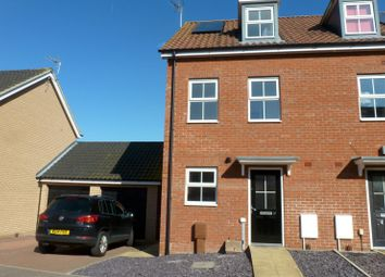 Thumbnail 3 bed semi-detached house to rent in Buttermere Way, Carlton Colville, Lowestoft