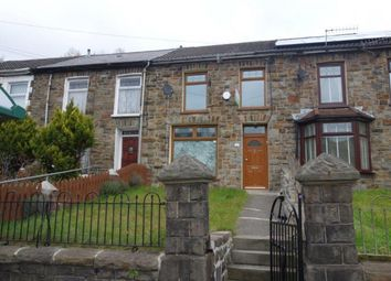 Thumbnail 3 bed terraced house to rent in Carne Street, Pentre