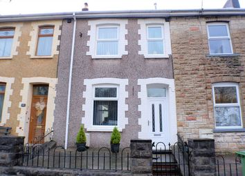 Thumbnail 3 bed terraced house for sale in Nant Melyn Terrace, Coed Ely, Tonyrefail, Porth