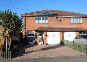 Thumbnail 3 bed semi-detached house for sale in Molland Lea, Ash, Canterbury