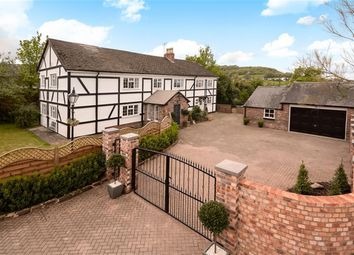 Thumbnail 7 bed detached house for sale in Hawthorn Farm, Tarvin Road, Frodsham, Cheshire