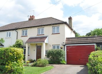 Thumbnail 3 bedroom semi-detached house for sale in Stag Leys, Ashtead