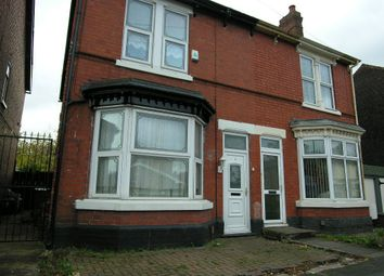 Thumbnail 3 bed semi-detached house to rent in Newhampton Road West, Wolverhampton