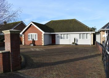 Thumbnail 3 bed detached bungalow for sale in Beccles Road, Bradwell, Great Yarmouth, Norfolk