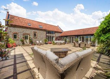 Thumbnail 5 bed barn conversion for sale in Ludham And Catfield, Great Yarmouth, Norfolk