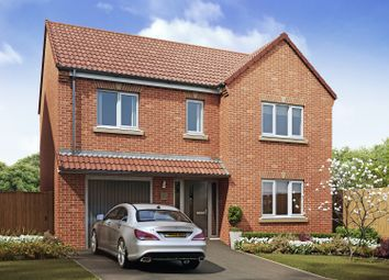 Thumbnail 4 bed detached house for sale in The Halt, Warmsworth, Doncaster