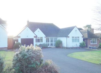 Thumbnail 3 bed bungalow to rent in Walsall Road (Bun), Four Oaks, Sutton Coldfield