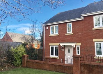 Thumbnail 3 bed semi-detached house to rent in Russell Walk, Exeter