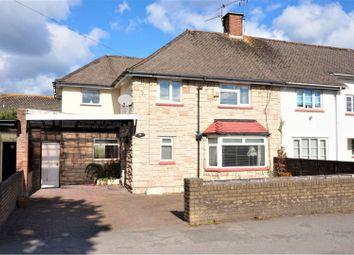 Thumbnail 3 bedroom semi-detached house for sale in Plas Essyllt, Dinas Powys