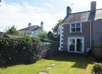 Thumbnail 2 bed semi-detached house for sale in Peniel Square, Amlwch