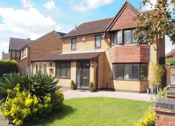 Thumbnail 4 bed detached house for sale in Milestone Close, Kibworth Harcourt, Leicester