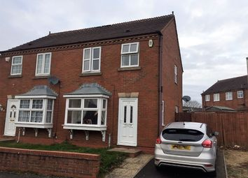 Thumbnail 3 bedroom semi-detached house to rent in Steppingstone Street, Dudley