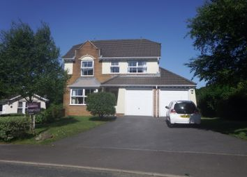 Thumbnail 4 bed detached house for sale in Chapel Road, Three Crosses, Swansea
