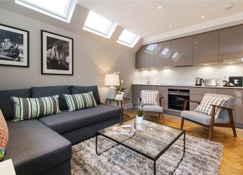 Thumbnail 4 bed flat to rent in Margravine Gardens, London