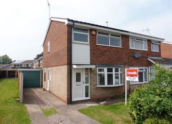 Thumbnail 3 bedroom property to rent in Barnfield Way, Stafford