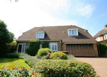 Thumbnail 4 bed detached house to rent in Goodyers Avenue, Radlett, Hertfordshire