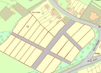 Thumbnail Land for sale in Plot 12, Heol Y Pentre, Ponthenry, Llanelli, Dyfed