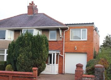Thumbnail 4 bed semi-detached house for sale in Green Drive, Barton, Preston