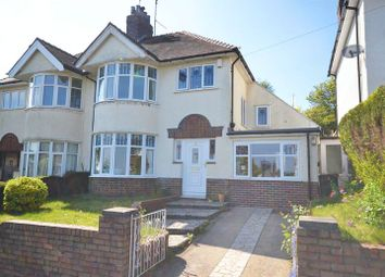 Thumbnail 3 bed semi-detached house for sale in Larger Than Average Period House, Ridgeway Grove, Newport
