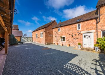 Adderley, Market Drayton TF9. 4 bed barn conversion for sale