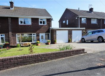 Thumbnail 4 bed semi-detached house for sale in Heath Avenue, Penarth