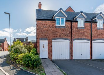 Thumbnail 2 bed mews house for sale in Waterloo Croft, Lichfield, Staffordshire