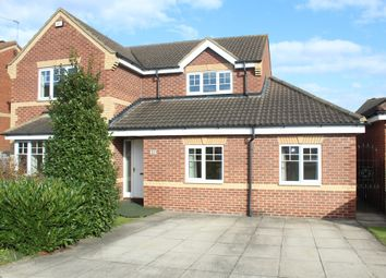 Thumbnail 5 bed detached house for sale in Sandbeck Court, Rossington, Doncaster