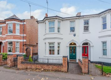Thumbnail 4 bed semi-detached house for sale in Radford Road, Leamington Spa, Warwickshire