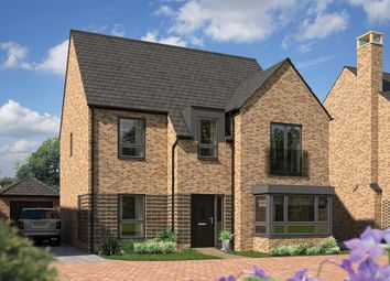 "Thumbnail 5 bed detached house for sale in ""The Birch"" at Station Road, Longstanton, Cambridge"