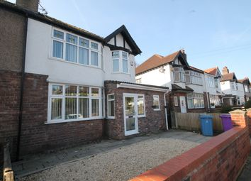 Thumbnail 3 bed semi-detached house for sale in Belle Vue Road, Gateacre, Liverpool