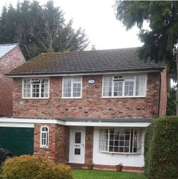 Thumbnail 4 bed detached house for sale in Moseley Road, Cheadle Hulme, Cheadle