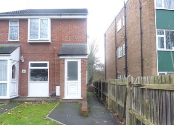 Thumbnail 1 bed flat to rent in Slaney Road, Walsall