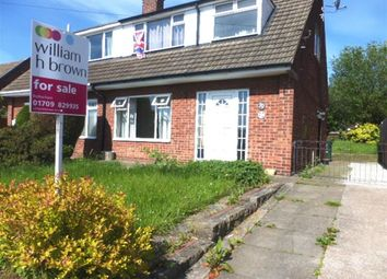 Thumbnail 3 bed semi-detached house for sale in Barden Crescent, Brinsworth, Rotherham