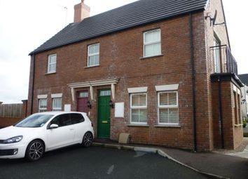 Thumbnail 2 bedroom flat to rent in Linen Crescent, Bangor