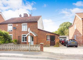 Thumbnail 3 bedroom cottage for sale in Norwich Road, Yaxham, Dereham