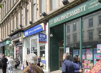 Thumbnail Retail premises for sale in 94-96 Sauchiehall Street, Glasgow