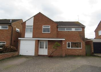 Thumbnail 4 bed detached house for sale in Bute Way, Countesthorpe, Leicester