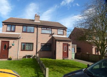 Thumbnail 3 bed semi-detached house to rent in Stanton Place, New Houghton, Mansfield