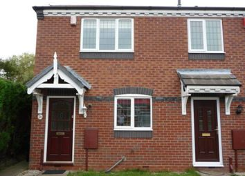 Thumbnail 2 bed mews house to rent in Cheswardine Road, Bradwell, Newcastle