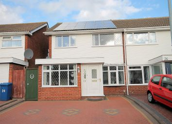 Thumbnail 3 bed semi-detached house for sale in Deltic, Tamworth