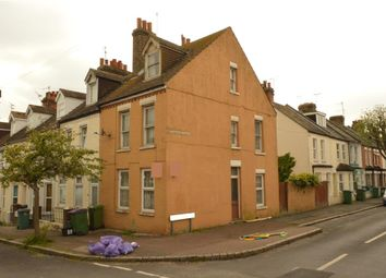 Thumbnail 3 bed end terrace house for sale in Marshall Street, Folkestone, Kent