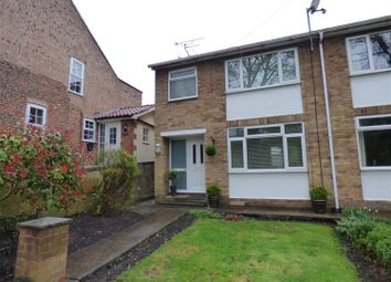 Thumbnail 3 bed semi-detached house for sale in Northgate, Walkington, Beverley