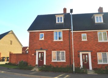 3 bed town house for sale in Ammonite Drive, Needham Market, Ipswich IP6
